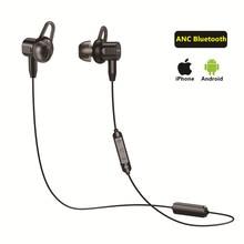 ANC słuchawka aktywna redukcja szumów słuchawka douszna Bluetooth 4.2 linia mikrofonu w uchu sterowanie magnetyczne Sport muzyka Sport bezprzewodowe słuchawki