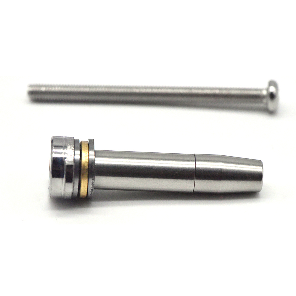CNC Stainless Steel Ball Bearing Spring Guide For Gearbox Ver.3/Ver.2 Airsoft AEG (M4 / M16 / MP5 / SCAR / G3) Gel Blaster
