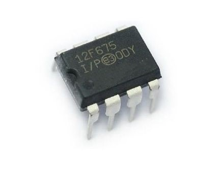 PIC12F675-I/P 10 pçs/lote MCU Controlador Original Mercadorias em estoque de Pagamento pode ser enviado diretamente