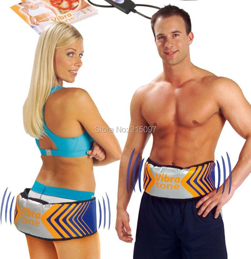 Cura Del Corpo intero Vibra Tone Dimagrisce Cinghia Massaggiatore Perdere Peso Stimolatore Muscolare Più Sottile del Tummy Hip Vita Massaggio Vibrante Cincher