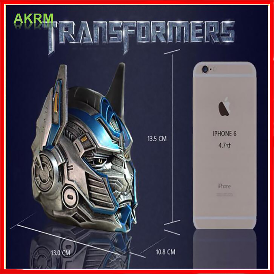 Transformers 5 Optimus ashtray with lid novel models Resin crafts Festival creative gifts