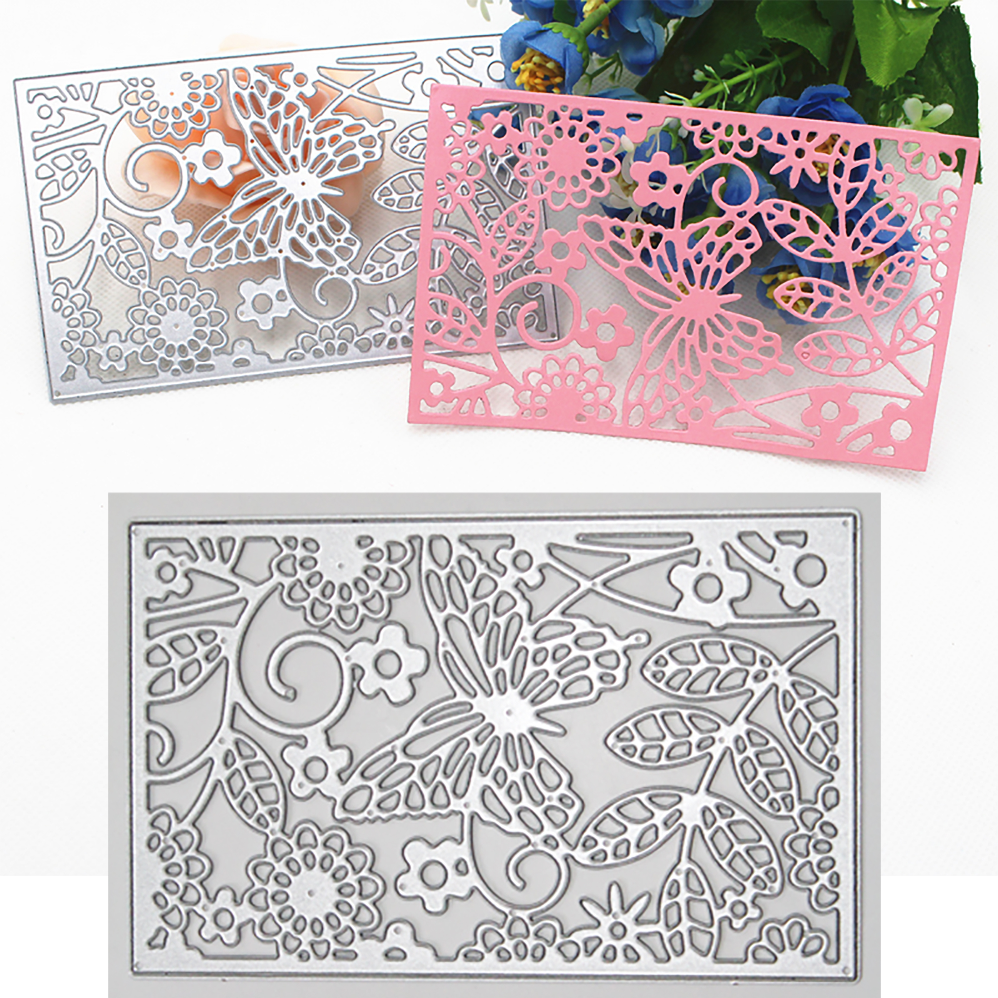 Butterfly Metal Cutting Dies DIY Scrapbooking Embossing Paper Card Album Decor