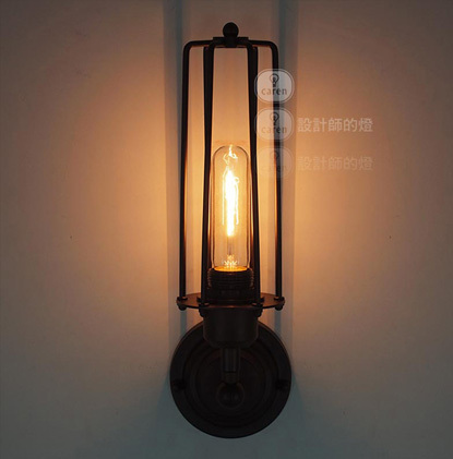 цены Rural style vintage wall lamp 1 head Edison wall light wall lights for home contains bulbs free shipping