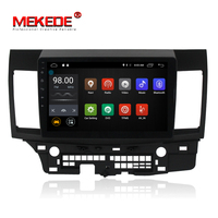 MEKEDE 10.1 1024X600 Android 7.1 2G RAM Car DVD GPS player for Mitsubishi Lancer 10 EVO Stereo Auto Radio Head unit Multimedia