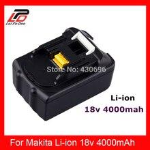18 V li-ion 4.0 Ah reemplazo para Makita BL1830, LXT400, 194205-1,194205-3,194230-4,194205-5, BTD140, BTL061F batería herramienta eléctrica