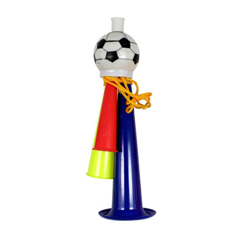 19x5.5cm Football Stadium Horn Sports Soccer Horn Games Cheering Prop Concert Party Ball Game Cheering Trumpet