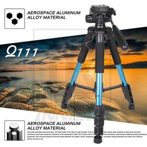 Image 3 - Neue Zomei Q111 Aluminium Legierung Mini Tragbare Stativ für DSLR kamera professionelle licht compact travel stehen