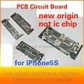Para iPhone5s telefone Móvel motherboard, placa de material de pequeno porte, sem ic, componentes eletrônicos firmware slot para cartão assento de origem novo