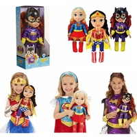 New Original DC Wonder Woman Action Toy Figures Bat Girl Super Girl Cute Dolls PVC Collectible Model Toys For Children Gifts