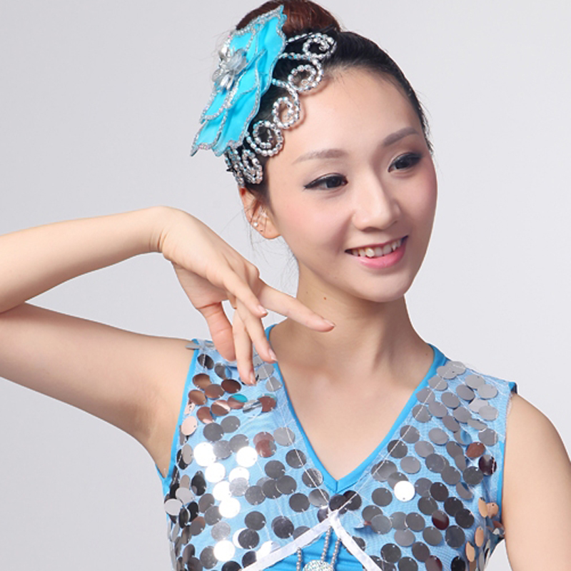 Chinese Folk Dance Costume Fish Dress Stage Dance Wear Peacock Costumes Traditional Chinese Costume Stage Costume Dance Wear Novelty & Special Use Stage & Dance Wear