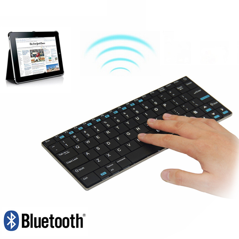 Original Rii Mini i9 Ultra-thin Slim Wireless Bluetooth Keyboard for Tablet Andorid TV Box Notebook Mac PC Teclado HTPC IPTV PS3 ...