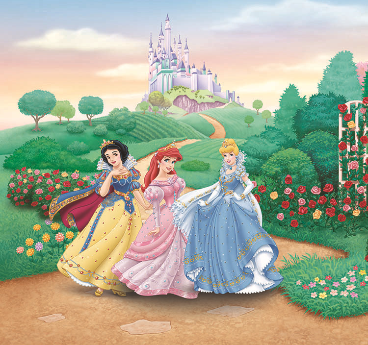 ... Kids Cartoon Snow White Murals Custom Bedroom Living Room Photo  Wallpaper For Walls 3 D Children ... Part 40