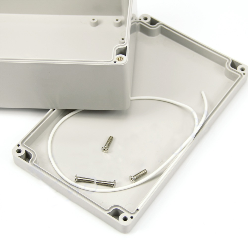 New 1 PC Mini 200x120x75mm Waterproof Plastic Electronic Project Box Enclosure Case VE836 T0.11