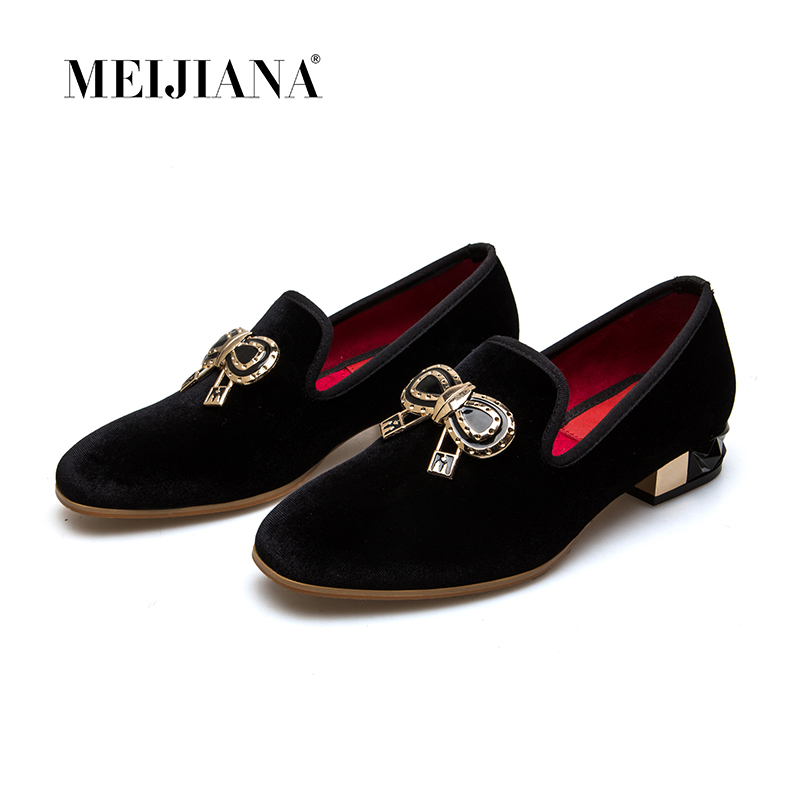 MEIJIANA Summer Brand Women Pumps Comfortable Thick Heels Women Low Heels Shoes