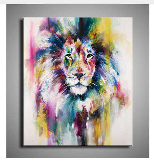 100 Handpainted Famous Paintings Colorful Animals Oil