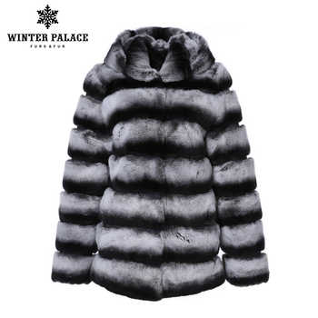 Trends rex rabbit coat O-Neck Rex Rabbit Fur new winter products real rex rabbit fur coat Thick Warm Fur real rex rabbit fur
