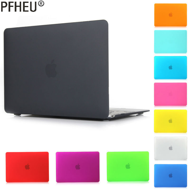 Laptop Matte Case For MacBook 12 / Air 11.6 13.3 / Pro Retina 13 15 for mac 2017`2018 New Air 13 Pro 13 15 inch with Touch Bar