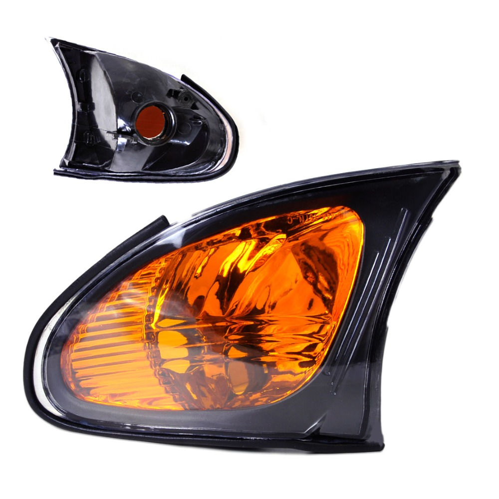 New Left Side Yellow Corner Light Lamp 63137165859 Fit For Bmw E46 325i 325xi 330i 330xi 2002