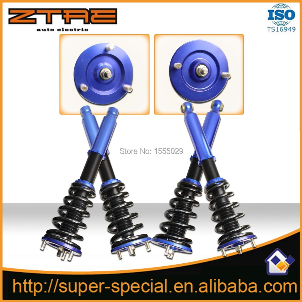 Non- Adjustable blue Shock Absorber Suspension Coilover For 95-99 MITSUBISHI ECLIPSE 94-98 Galant Coilover Shock Strut