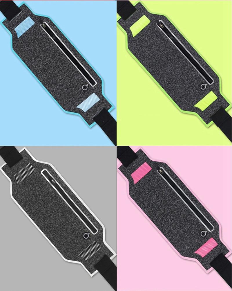 Professional Running Waist Pouch Belt Sport Belt Mobile Phone Men Women With Hidden Pouch Gym Bags Running Belt Waist Pack (18)