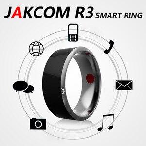 Image 1 - Jakcom R3 inteligentny Mini magiczny pierścień elektroniczny CNC Metal RFID NFC 125khz 13.56mhz IC/ID Rewritable symulacja karta dostępu Tag klucz