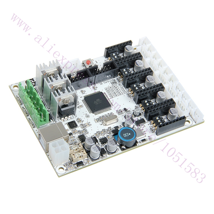 Newest  Mega2560 Development Board, GT2560 3D printer controller board Power Than Mega2560+Ultimaker and Ramps 1.4+Mega2560 3d printer parts ultimaker v2 control board ultimaker 2 generations board interface board with lcd genuine spot free shipping
