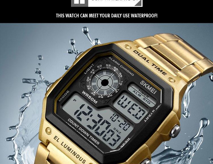 Sport men's Waterproof Watch