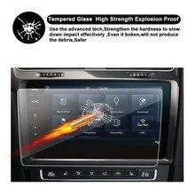 RUIYA Защита экрана для Volkswagen VW Golf 7 9,2 дюймов Автомобильный gps навигационный сенсорный экран, 9 H закаленное стекло экрана Защитная пленка