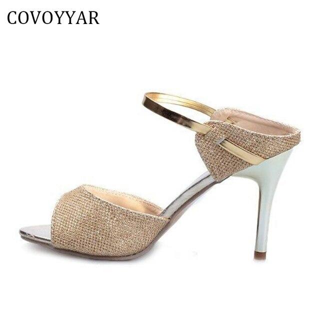 Donna Sandali Cinturino Peep Toe Infradito Scarpe Estate Alla Caviglia Shoes