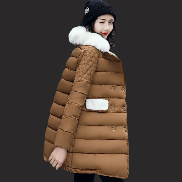 longue veste femmes veste d 39 hiver de mode de femmes. Black Bedroom Furniture Sets. Home Design Ideas