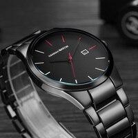 Мужские часы 2018 Мужские кварцевые мужские наручные часы лучший бренд класса люкс Relogio Masculino военные наручные часы Meski для спорта