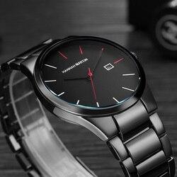 6fedd50d07c Homens Relógios 2018 relógios de Pulso Masculino Relógio de Quartzo dos homens  Top Marca de Luxo