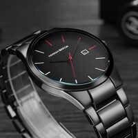 Montres hommes 2018 montres à Quartz pour hommes horloge mâle Top marque de luxe Relogio Masculino montres de poignet militaires Meski pour le sport