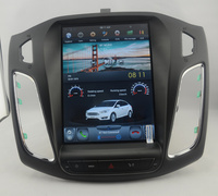 10.4 tesla style vertical screen android 6.0 Quad core Car GPS radio Navigation for ford Focus C Max 2012 2014