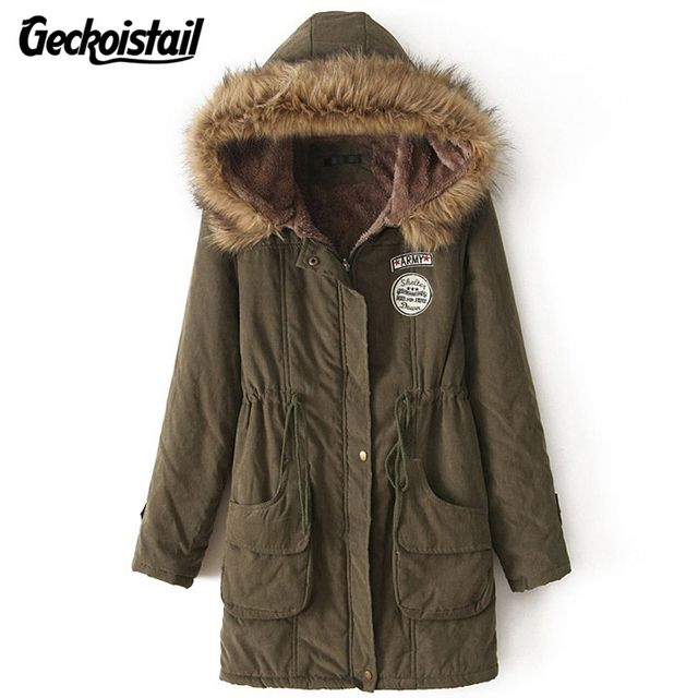 Aliexpress.com : Buy Geckoistail Parkas Women Coats Fashion Autumn ...