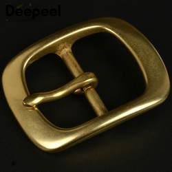Deepeel 38 мм твердая латунная пряжка для ремня для мужчин и женщин металлическая пряжка для ремня 36-37 мм Сделай Сам кожевенное ремесло джинсы