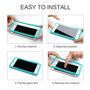 Image 5 - Защита экрана SmartDevil для iphone X Xs Max Xr 2.5D изогнутое закаленное стекло для iphone 6 6s Plus 7 Plus 8Plus защита экрана