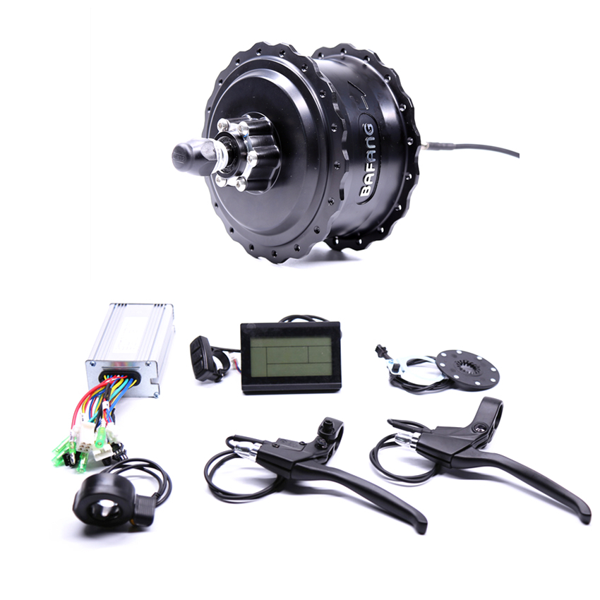 Eletrica 2017 Rushed 48v750w Bafang Fat Rear Electric Bike Conversion Kit Brushless Motor Wheel With Ebike System eunorau 48v1000w 26 27 5 28 rear wheel hub motor electric bike kit cheap ebike conversion kit free shipping