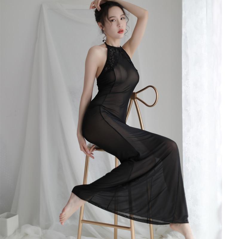 Černé spodní prádlo porno