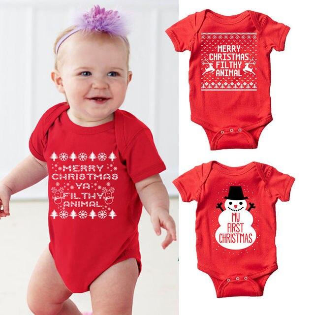 Bebé Navidad muñeco de nieve ropa bebé recién nacido niños snowmen ...