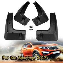 4pcs Car Front Rear For Kia Sportage 2017 2018 2019 Ql Series Fender Flares Mud Flap