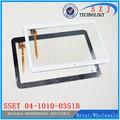 Nuevo 10.6 ''pulgadas De pantalla táctil capacitiva tablet PC de panel táctil SSET 04-1010-0351B Envío gratis