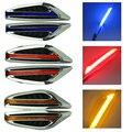 Venda quente 1 Par DC12V Lâmpada de Direção luz Fender Lado Da Lâmina forma Luzes LED Side Marcador de Turno Sinal Luzes Auto Car Styling