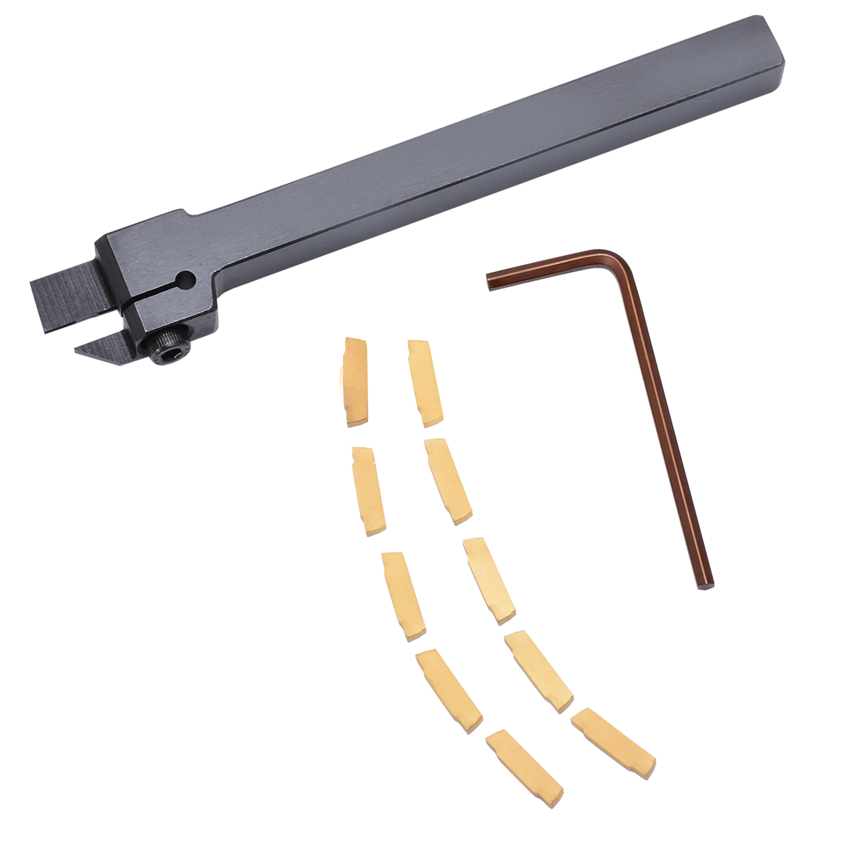 1 pz Mayitr MGEHR1010-2 Portautensili Noioso Bar + 10 pz MGMN200 Inserti con la Chiave Per Utensili di Tornitura