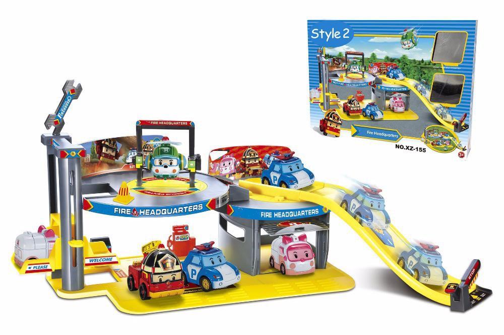 1-Parking-Track-2-pcs-Robocar-Poly-Transformation-Robot-car-Poly-Theme-Parking-Action-Figure-Thomas (3)