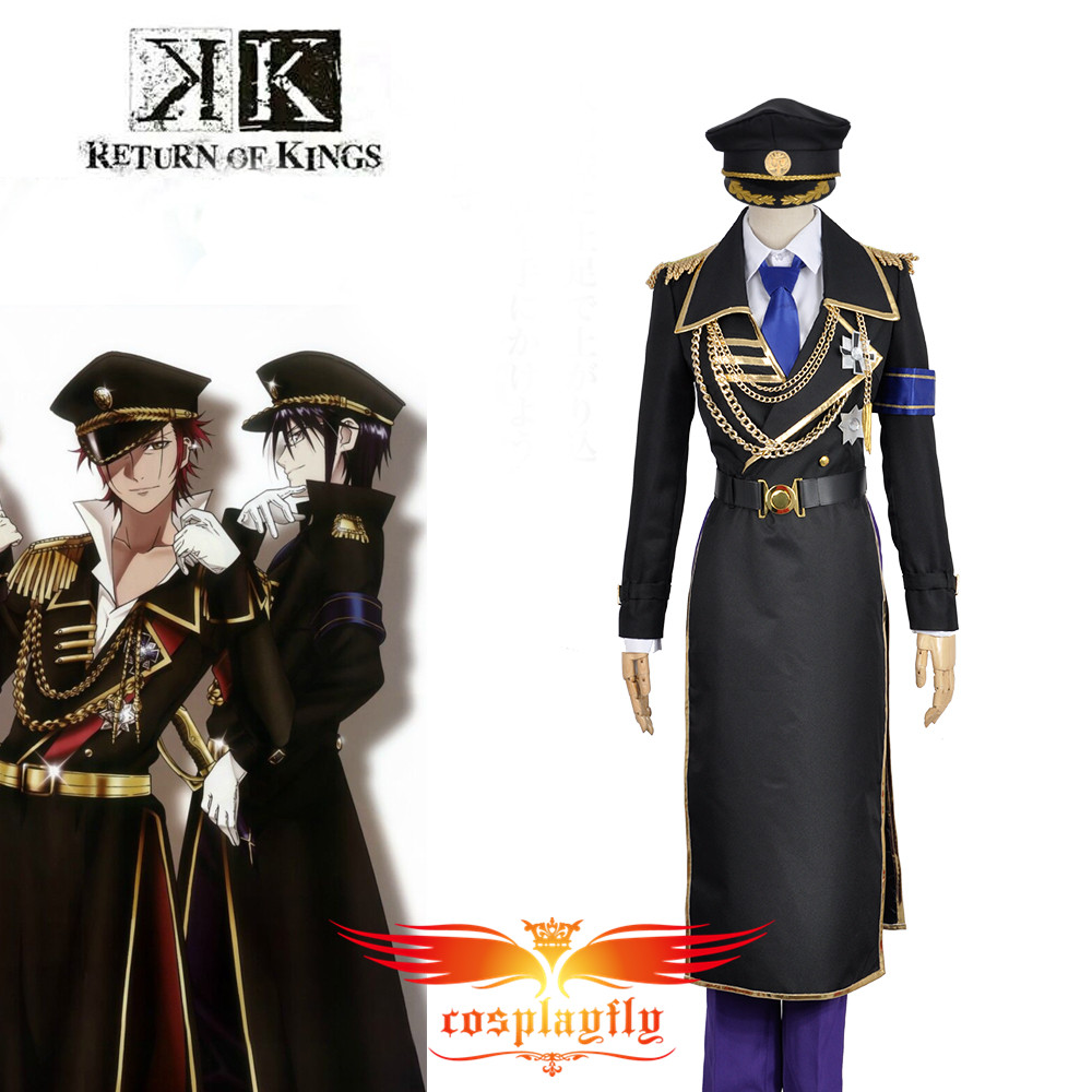 K Anime Return Of Kings Munakata Reisi Military Uniform Outfit Cosplay Costume Custom Made  Outfit Clothing For Adult