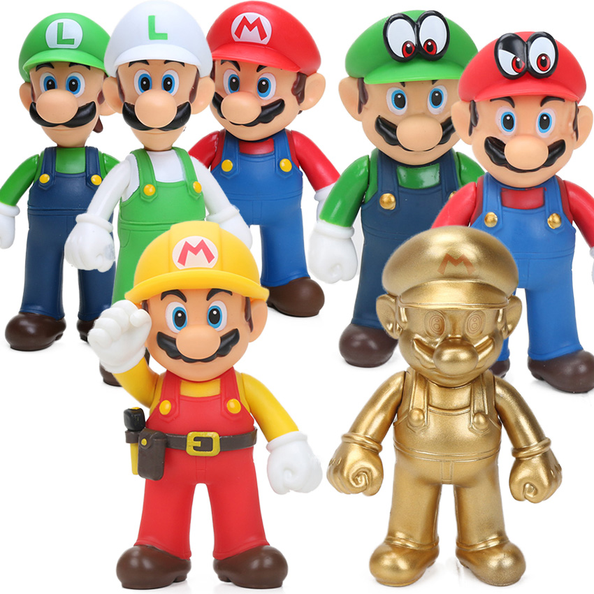 Super Mario Bowser PVC Action Figure Model Toy Decoration Collection Doll Gift