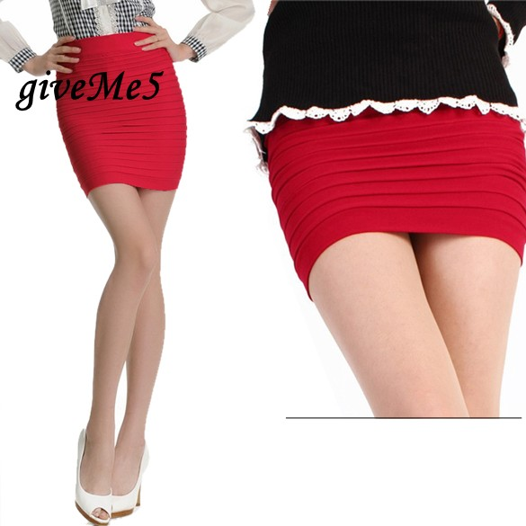 Popular Short Stretch Mini Skirts-Buy Cheap Short Stretch Mini ...