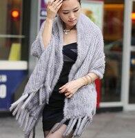 Элегантные дамы 180 см длинные реального норки шарфы для женщин Зимняя коллекция 2017 г. новые модные натуральный мех большой обруч шали мыс с к