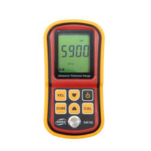 LCD Digital Ultrasonic Thickness Gauge tester Metal Width Measuring InstrumGM100 1.2 to 225mm(Steel) Sound Meter Diagnostic-tool